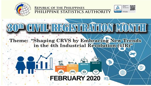30th Civil Registration Month