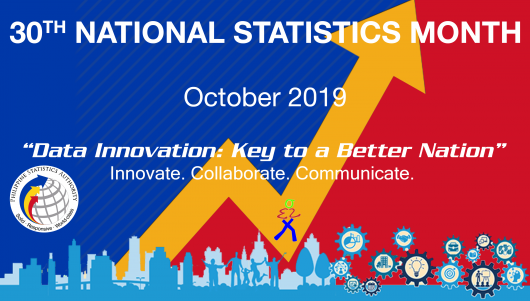 30th National Statistics Month - October 2019